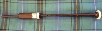 Chanter with imitation ivory ball